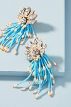Anthropologie Ocean Cascade Drop Earrings