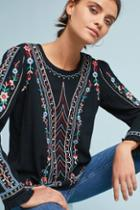 One September Wesley Embroidered Pullover