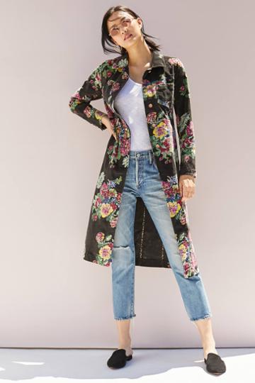 Ett:twa Gardenia Longline Jacket