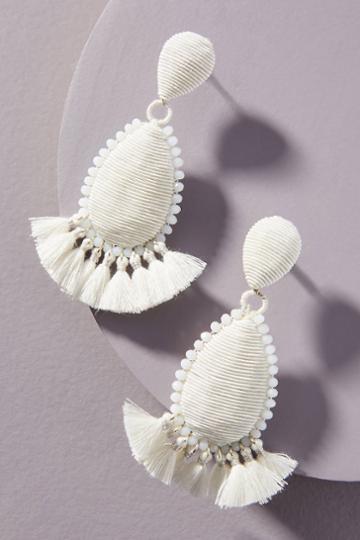 Suzanna Dai Exuma Tassel Drop Earrings