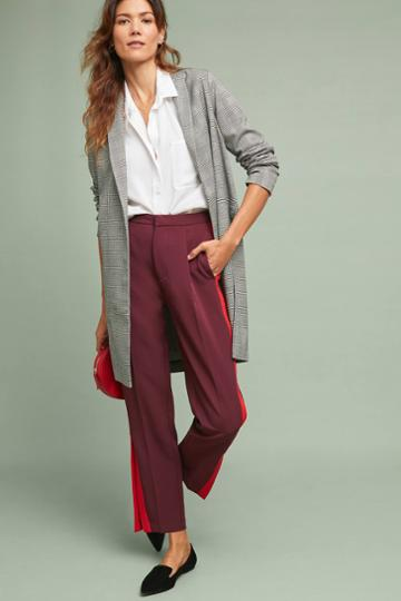 Drew Plaid Longline Jacket