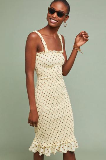 Faithfull Nadine Smocked Dress