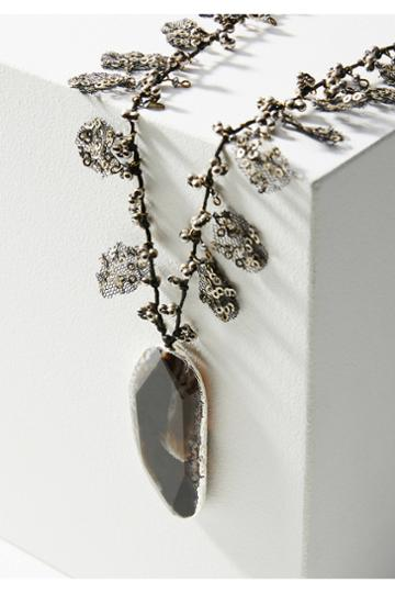 Anthropologie Janice Pendant Necklace