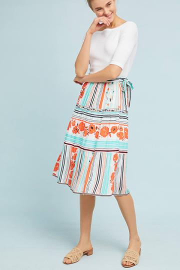 One September Frida Wrap Skirt