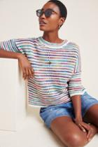 Anthropologie Cindy Striped Pullover