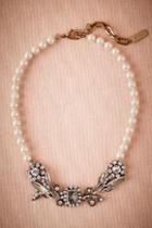 Anthropologie X Bhldn Boleyn Pearl Necklace