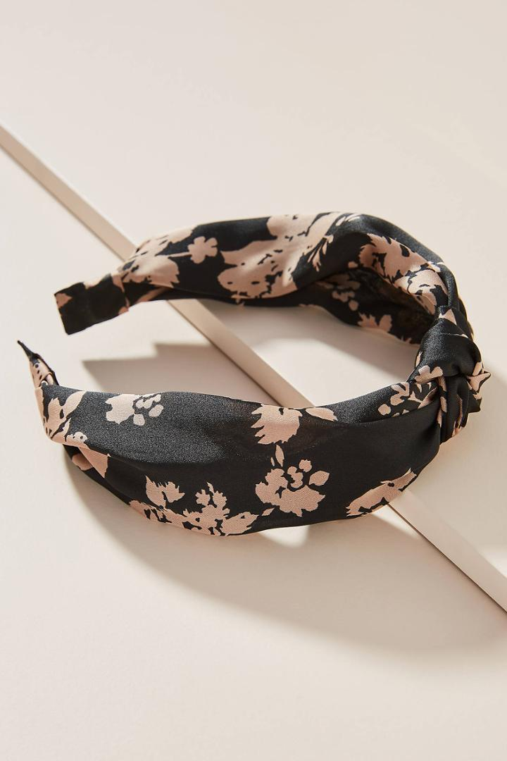 Anthropologie Georgette Knotted Headband