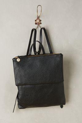 Clare V. Agnes Backpack Black