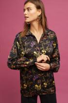Anthropologie Ingrid Floral Shirt