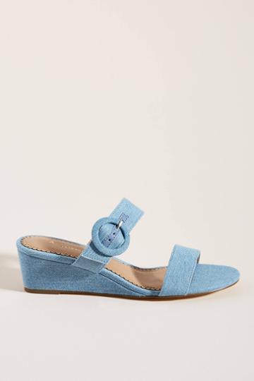 Anthropologie Lucille Wedge Sandals