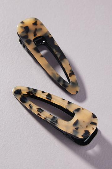 Anthropologie Shana Hair Clip Set