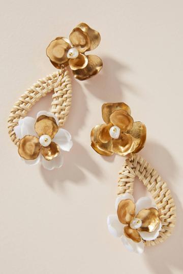 Nicola Bathie Jewelry Wicker Drop Earrings