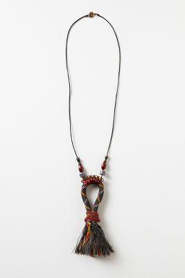 Dithyramb Tassel Necklace