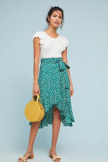 Faithfull Blooming Wrap Skirt