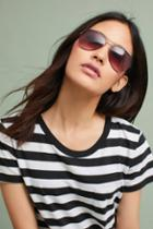 Anthropologie Kayla Aviator Sunglasses