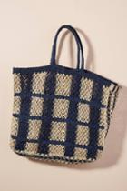 The Jacksons Picnic Straw Tote Bag