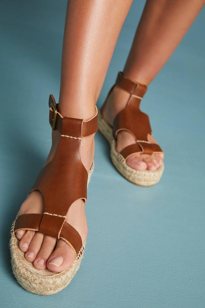Soludos Banded Platform Sandals