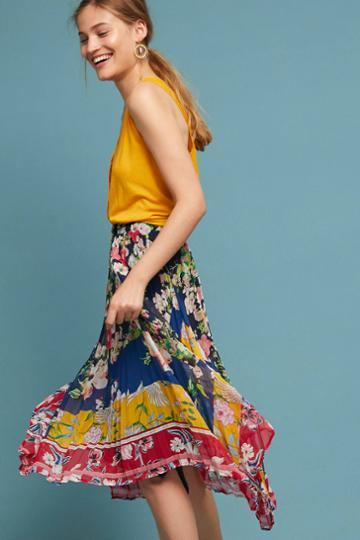 One September Leora Floral Skirt