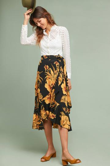 Faithfull Cubana Floral Skirt