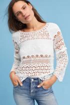 Deletta Crochet & Lace Top