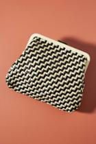 Clare V. Woven Flore Clutch