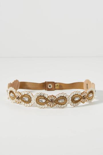 Deepa Sascha Embellished Waist Belt