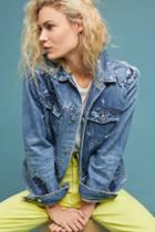 Ag Jeans Ag Nancy Embroidered Denim Jacket