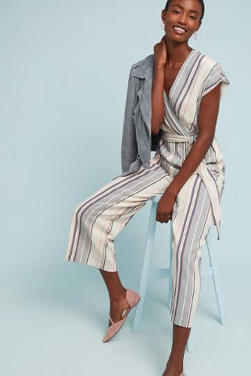 Dolan Left Coast Millie Striped Jumpsuit