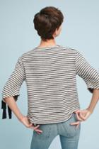 Eri + Ali Tied Stripes Pullover