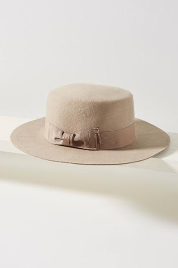Wyeth Felted Sage Boater Hat
