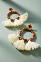 Mochi Sandra Tasseled Drop Earrings