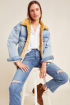 Levi's Kara Sherpa-lined Denim Trucker Jacket