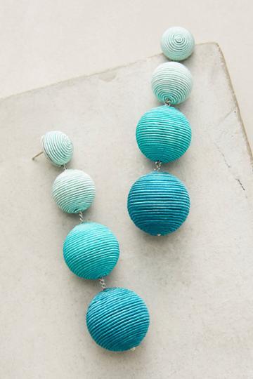 Suzanna Dai Ombre Orb Silk Drop Earrings