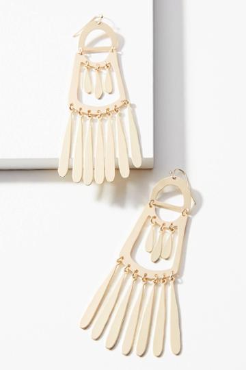 Anthropologie Laia Chandelier Drop Earrings