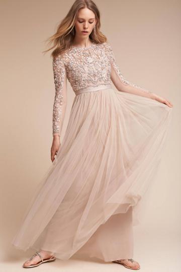 Anthropologie Rhapsody Wedding Guest Dress