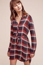 Cloth & Stone Stateside Plaid Shirtdress