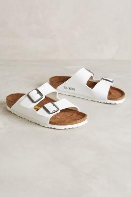 Birkenstock Arizona Sandals White