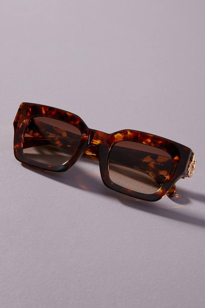 Amber Sceats Sofia Square Sunglasses