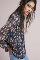 Eri + Ali Cranford Printed Buttondown