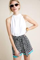 Maeve Scarf-printed Shorts