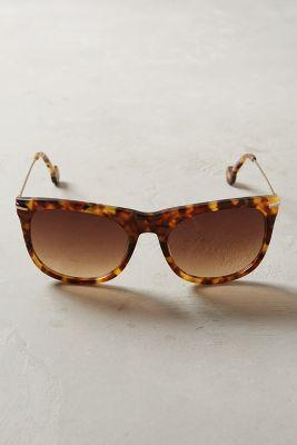 Ett:twa Ett: Twa Ninette Sunglasses Brown Motif