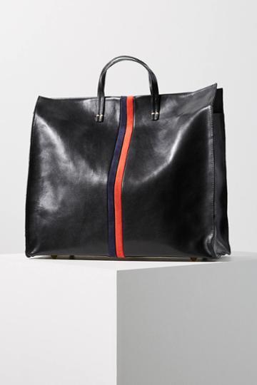 Clare V. Simple Stripe Tote Bag