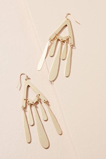 Anthropologie Marabel Flutter Drop Earrings