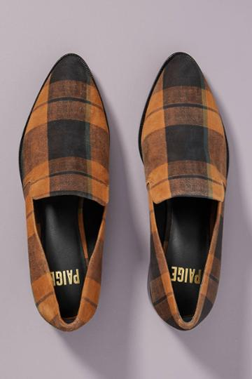 Paige Madison Plaid Loafers