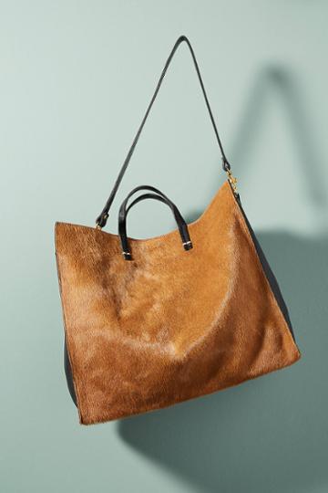 Clare V. Striped Tote Bag