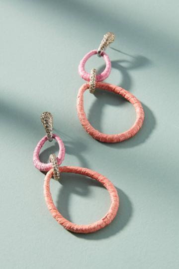 Kmo Paris Evalyn Link Drop Earrings