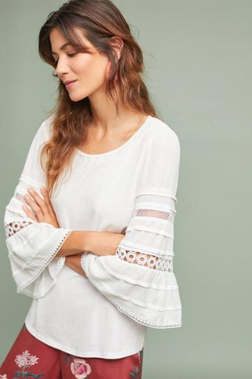 One September Southern Eyelet Top