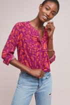 52 Conversations By Anthropologie Colloquial Yoked Buttondown