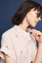 Rails Hula Print Buttondown