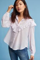 Eri + Ali Edera Ruffled Buttondown